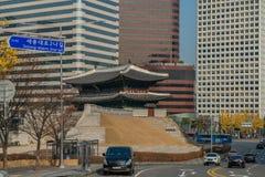 namdaemun de la puerta de Seul Foto de archivo