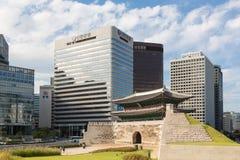 Namdaemun gate in Seoul Royalty Free Stock Photography