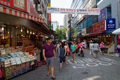 Namdaemun Market, Seoul, Korea Royalty Free Stock Image