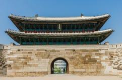Namdaemun-Tor in Seoul, Südkorea stockbild