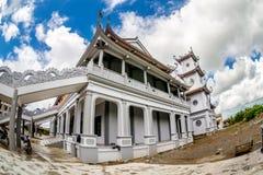 NAMDINH, ВЬЕТНАМ - 2-ое сентября 2014 - главная пагода в бегстве Thien Truong Truc Стоковое фото RF