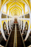 NAMDINH, VIETNAM - 21 décembre 2014 - à l'intérieur de la cathédrale grande de Phu Nhai Photographie stock