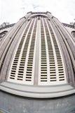 NAMDINH, VIETNAM - 21 décembre 2014 - architecture d'une entrée de la cathédrale grande de Phu Nhai Photos libres de droits