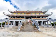 NAMDINH, VIETNAM - 2. September 2014 - Truc Lam Thien Truong Stockfotografie