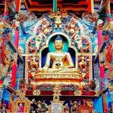 Namdroling kloster Royaltyfria Bilder
