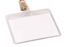 Name Badge royalty free stock images