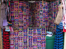 Name Bracelets  at the Market in Ensenada, Baja, California, Mexico Royalty Free Stock Image