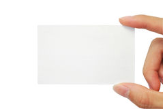 Name card Royalty Free Stock Photography