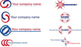 Name company Royalty Free Stock Photos