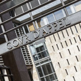 Name of the court of appeal on entrance gate Royalty Free Stock Image