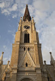Name of Mary Church in Novi Sad Stock Images