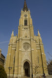 The Name of Mary Church is a Roman Catholic parish church in Novi Sad, Serbia. It is the largest church in Novi Sad, and is located in the city center on the Stock Photos