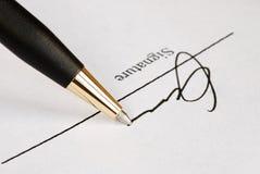 name paper tecken Arkivbilder