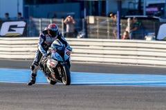 NAME pilot of Superbikes SBK Stock Images