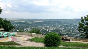 View of Pyatigorsk city in Russia stock photos