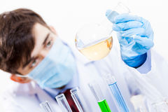 In the name of science Stock Photo
