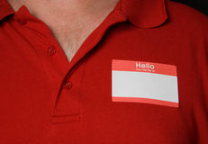 Name Tag Stock Images