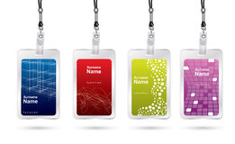 Name tag set Royalty Free Stock Image