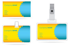 Name tag set Stock Images