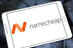 Namecheap som är värd företagslogo Royaltyfria Foton
