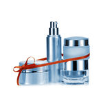 Nameless beauty set gift in blue color Stock Image