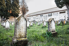 Nameless graves royalty free stock photo