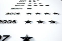Nameless Honors Board Royalty Free Stock Image