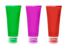 Nameless plastic bottles Royalty Free Stock Images