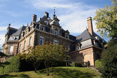 Namen Chateau in België stock afbeeldingen