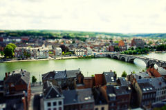 Namen tilt and shift Royalty Free Stock Photo