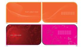 Namenskarte 1-1 Lizenzfreie Stockbilder