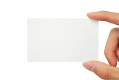 Namenskarte Lizenzfreie Stockfotografie