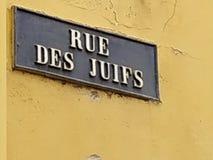 Namensschild der Straße stockfotos