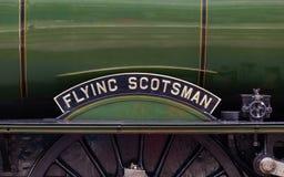 Nameplate Scotsman летания стоковое фото