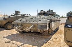 Namer is een Israëlische gepantserde die personeelsdrager - op een Merkav wordt gebaseerd stock afbeeldingen