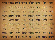 Names of God Stock Photo