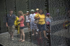 Names of Vietnam war casualties on Stock Images