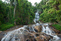 Nameung waterfall samui thailand Stock Image