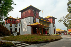 Namgyal Institute of Tibetology. Is a Tibet museum in Gangtok, Sikkim, India. The Namgyal Rrks in the world outside Tibet Stock Images