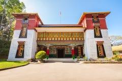 Namgyal Tibetology学院 免版税图库摄影
