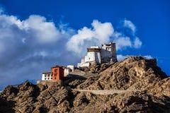 Namgyal Tsem gompa and fort. Leh, Ladakh Stock Photo