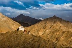 Namgyal Tsemo Gompa Photographie stock