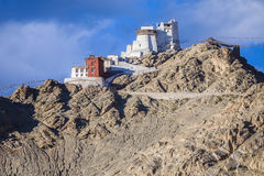 Namgyal Tsemo Gompa Royalty Free Stock Images