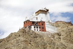 Namgyal Tsemo Monastery, Ladakh, India Stock Photo