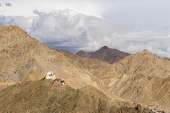 Namgyal Tsemo monastery, Leh Stock Photography