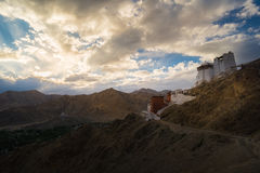 Namgyal Tsemo Monastery Royalty Free Stock Photography