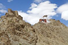 Namgyal Tsemo Monastery, Ladakh, India Stock Photography