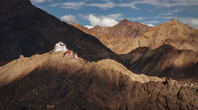 Namgyal Tsemo Monastery in Leh Stock Photo
