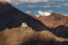 Namgyal Tsemo Monastery in Leh Royalty Free Stock Photo