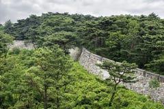 Namhan Sanseong в Корее Стоковые Изображения